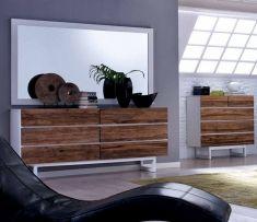 Comó Madia in legno teak : Collezione FREDA