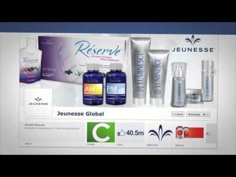 Jworld™ Technology by CINSAY and JEUNESSE®  www.glownesse.com