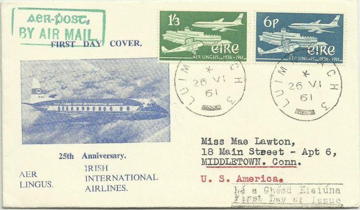 1961 Aer Lingus FDC