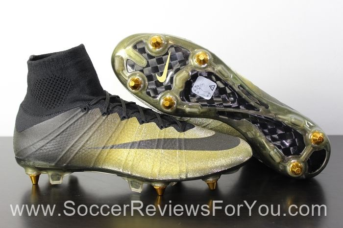 huge selection of 9731c c70e9 2015 nike mercurial superfly cr7 gold black