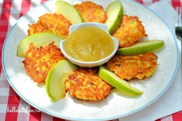 Картофельные оладьи (драники)