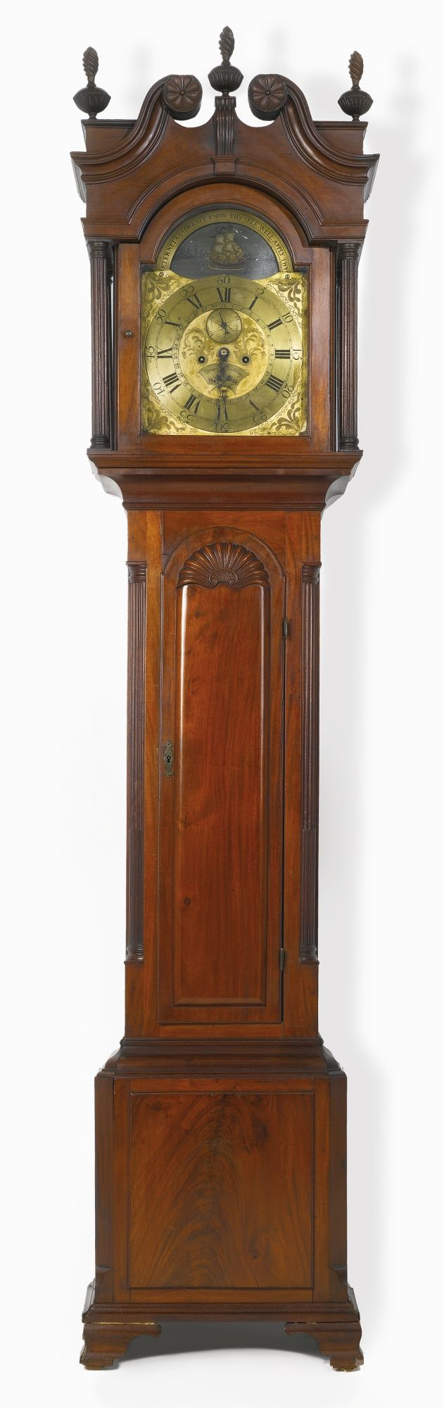 Chair antique queen anne chair the buzz on antiques antique chairs 101 - The Frieze Family Very Fine And Rare Chippendale Carved And Figured Mahogany Tall Case Clock Classic Furnitureantique