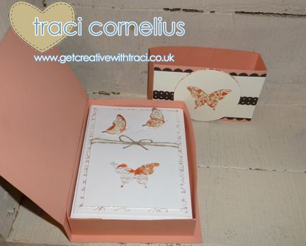 27 best card box template images on pinterest boxes parties and how to make a card set box by stampin up uk demonstrator traci cornelius pronofoot35fo Choice Image
