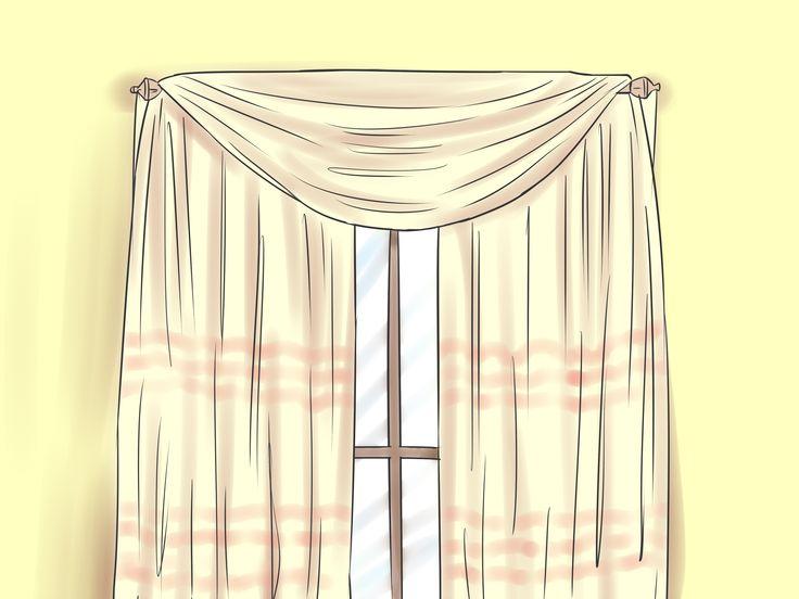 25 Best Ideas About Scarf Valance On Pinterest Curtain