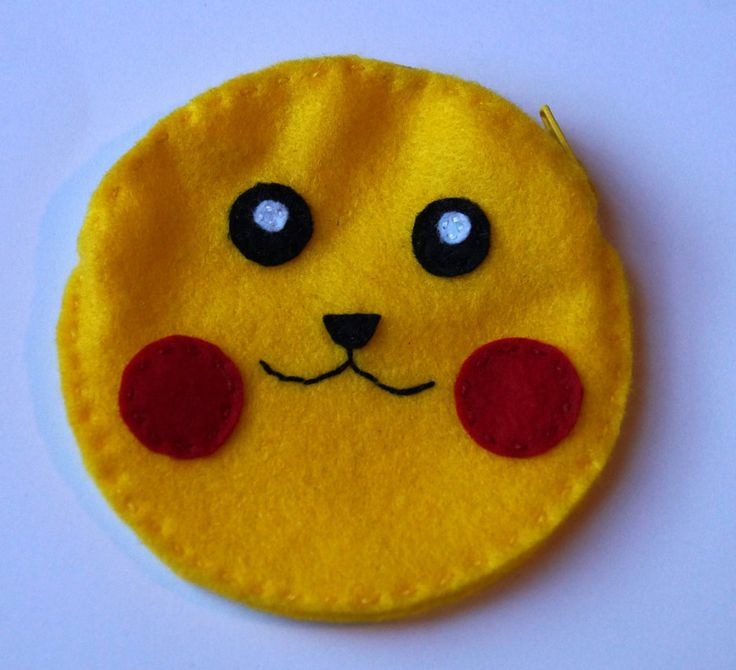 Pikachu pokemon coin purse by TosTosia