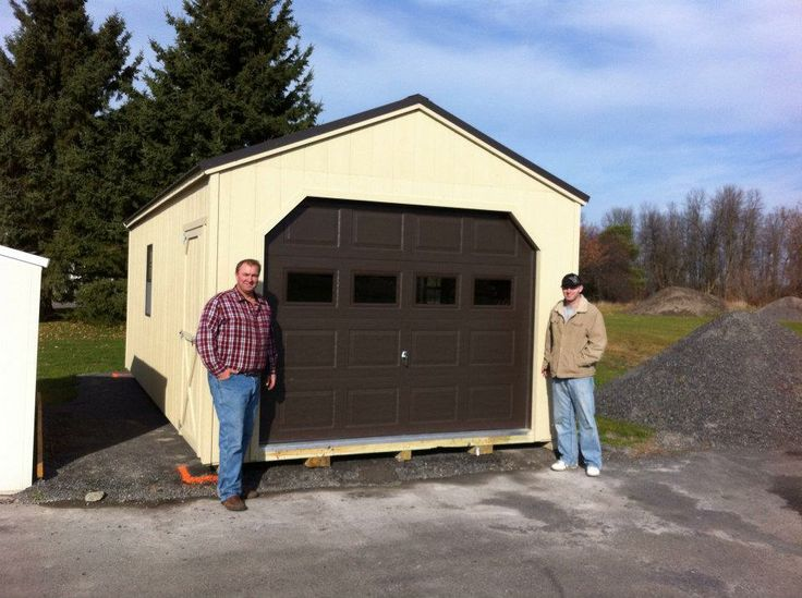 Portable Wooden Garages : Best ideas about prefab garage sheds on pinterest