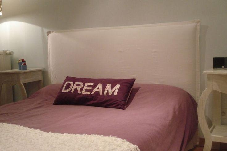 Une tête de lit déhoussable