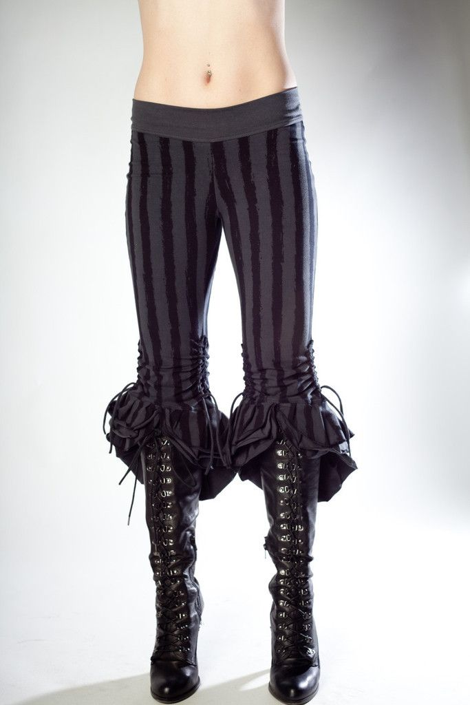 I actually know someone who would wear these. She shouldn't - she's not a fancy pirate- but she would!