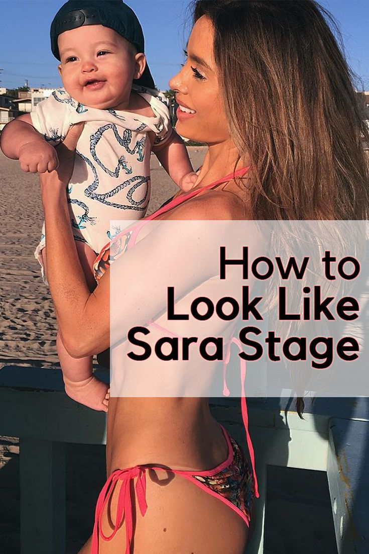 How to Look Like Sara Stage ~ Carob Cherub Look like the model Sara Stage after giving birth. Follow these tips to look hot and sexy after pregnancy. https://www.carobcherub.com/pregnant-sarah-stage/