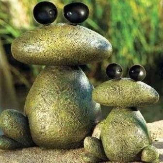 фигурки из камушков своими руками