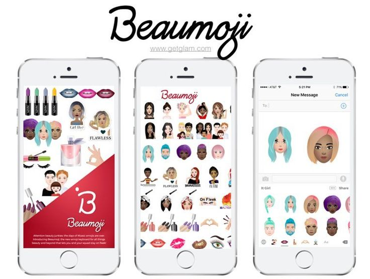 Have you download #Beaumoji yet? It's the new #emoji keyboard for all things #beauty. Apps like this should come with a warning because we can't stop using it! Download it in the #app store and check out our review at GetGlam.com!  #GetGlam #Beauty #Emoji #iPhone #BeautyGeek #MakeupGeek #fashionista #makeupinsta #instabeauty #makeupporn #makeuptalk #makeupporn