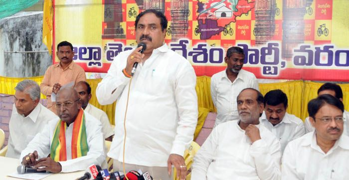 Defeat TRS candidates in best interest of State: BJP Read complete story click here http://www.thehansindia.com/posts/index/2015-03-09/Defeat-TRS-candidates-in-best-interest-of-State-BJP-136256