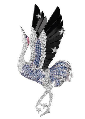 Van Cleef & Arpels Les Voyages Extraordinaires series of fine jewelry