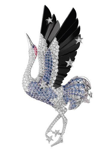 Van Cleef & Arpels Les Voyages Extraordinaires series of fine jewelry                                                                                                                                                     More