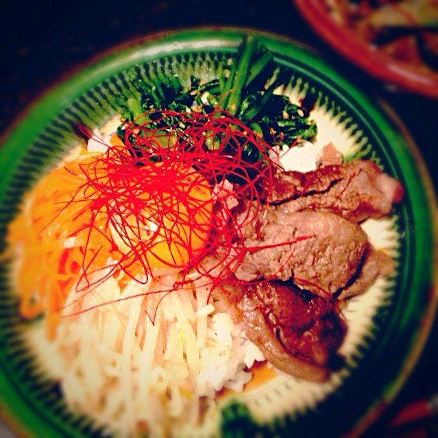 春菊のナムルが美味し‼ - 18件のもぐもぐ - ビビンバ by akkomama