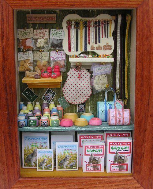 Suministros para tienda de mascotas: Dollhouse Pet S Shops, Ideas Vete, Pet Shop, Leash Ideas, Dollhouses Pet S Shops, Petshop Ideas, Inspiración Pet, Escenarios Scrap, Pet Store