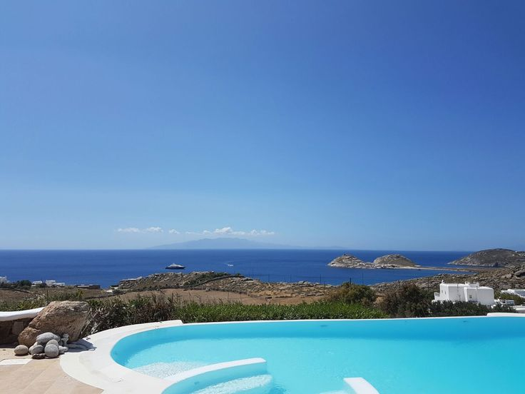 View from a Mykonos Grand Villa