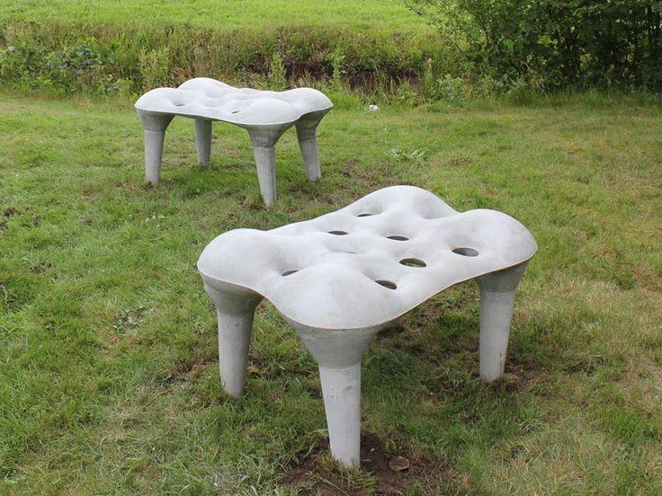 Exceptional Contemporary Concrete Furniture