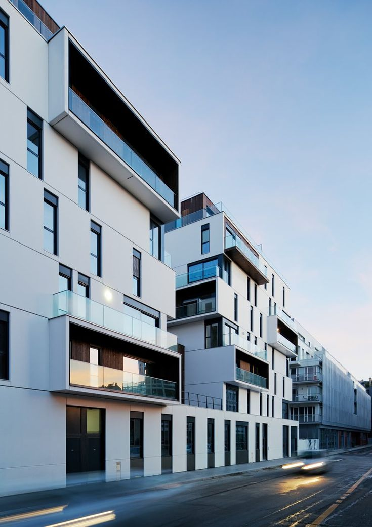 Apartment complex in Paris, 2014 - Ameller Dubois & Associés