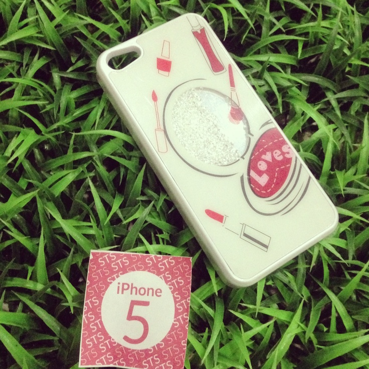 Make up bling case for iphone 5, IDR175.000