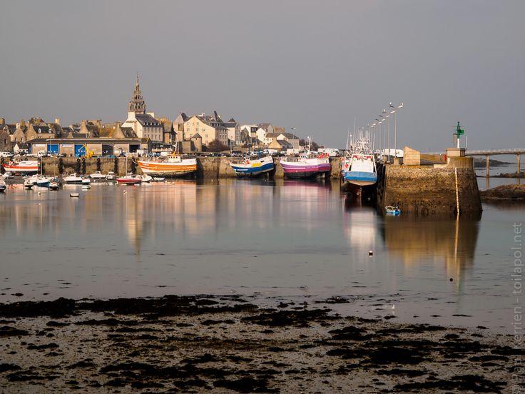 marée descendante  - à Roscoff  © Paul Kerrien http://toilapol.net #myfinistere Finistère Bretagne