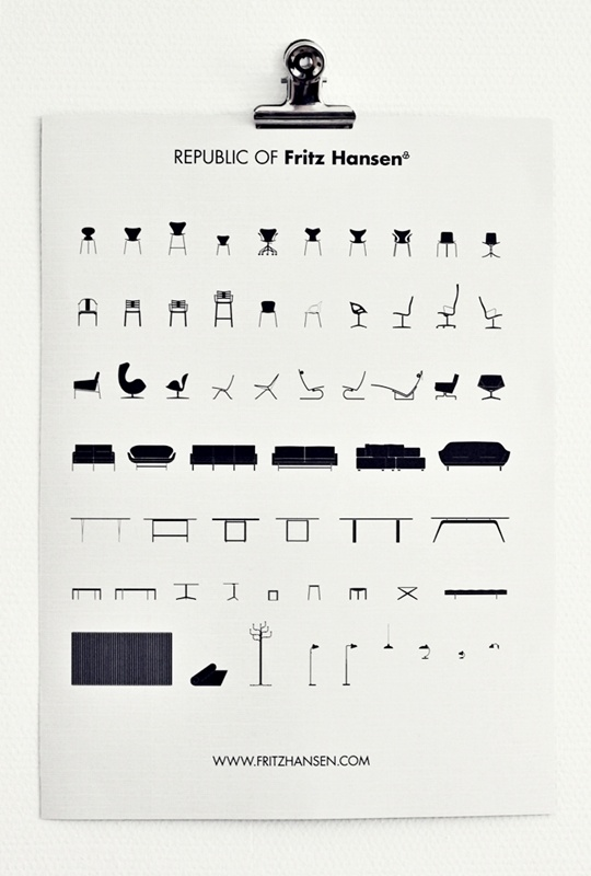 Republic of Fritz Hansen (Photo from The superordinary). www.albertalagrup.com