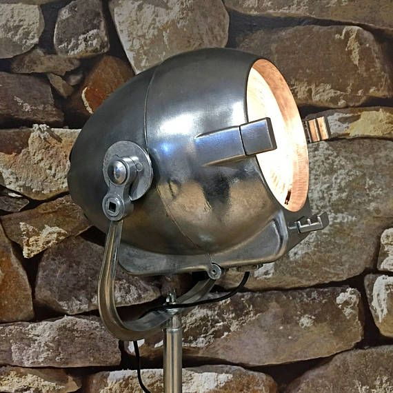 Strand Electric 123 Egg or Alien custom built stand. #vintagemonger #strandelectric #recycledesign #interiordesign #lamp #vintage #interior #design #industrieel #oldlamp #utrecht #amsterdam #urbandesign #wonen #interieur #inrichting #light #designlamp #industrialdesign #lighting #mancave #industrial #verlichting #loft #stoerwonen #styling #dutchdesign #vintagewebshop #industrialstyle