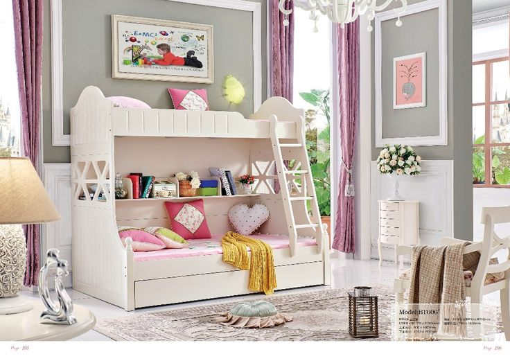 71 best Baby and girl's bed images on Pinterest | Bedroom ...