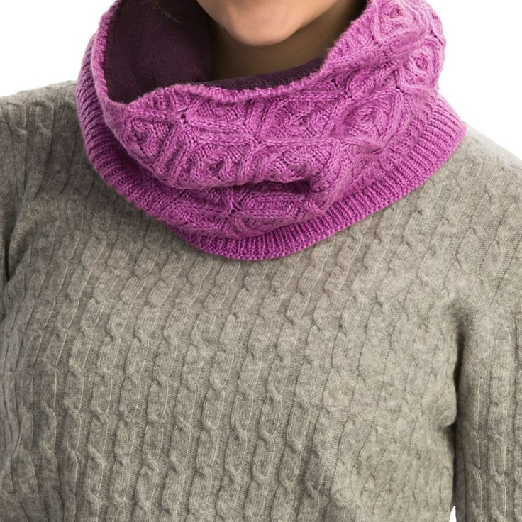 how to make a snood scarf