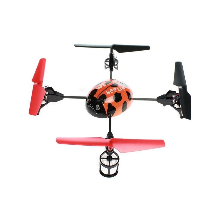 Helikopterdrone med 4 rotorer - stabilt og enkelt