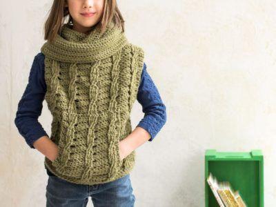 Cora Poncho Crochet Kit - Crochet Poncho Patterns