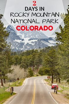 Tips and advice on what to see when visiting Rocky Mountain National Park and Estes Park in Colorado, including tips on photogenic spots, where to stay and what to do.