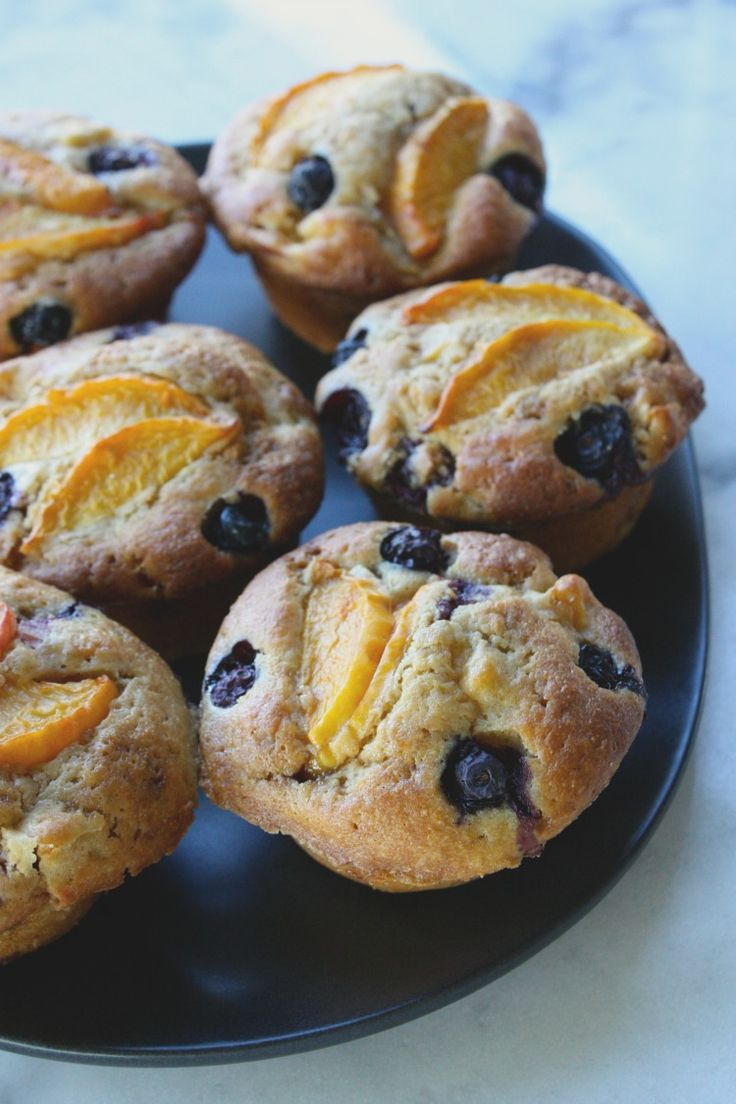 My nectarine blueberry muffins are the very taste of summer. Use my basic muffin recipe to create your favourite fruit combination.