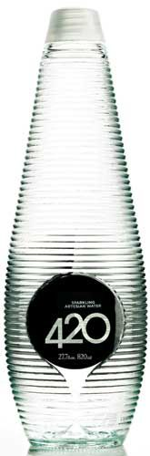 420 Bottled Water. great bottle for all our #water #packaging loving peeps PD