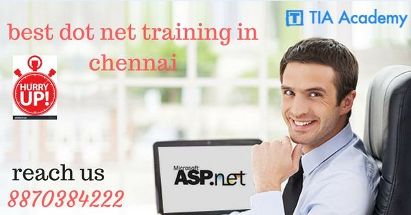 #dotnet framework  is a software framework developed by Microsoft that runs primarily on Microsoft Windows.  Microsoft also produces an integrated development environment largely for dot net software called Visual Studio. #dotnettraining in Chennai at #TIAacademy.