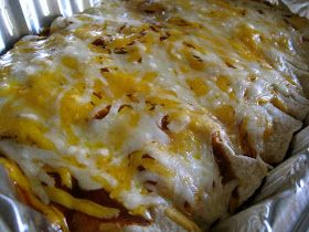 Mrs. Schwartz's Kitchen: Freezer Enchiladas
