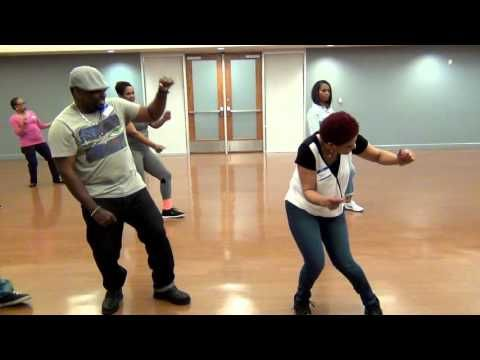 Easy Zydeco Line Dance-Platinum Player Breakdown in Class