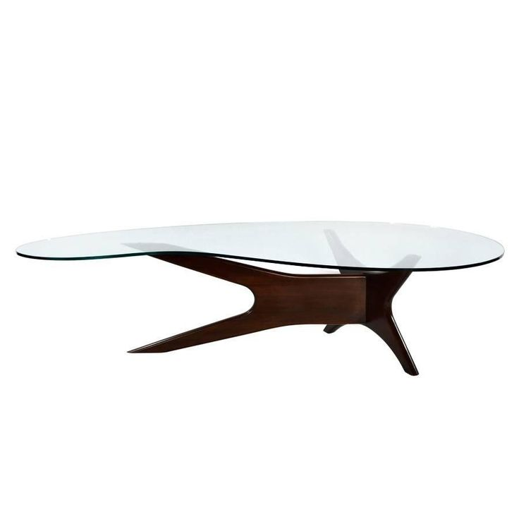 Biomorphic Cocktail Table by Adrian Pearsall | From a unique collection of antique and modern coffee and cocktail tables at https://www.1stdibs.com/furniture/tables/coffee-tables-cocktail-tables/