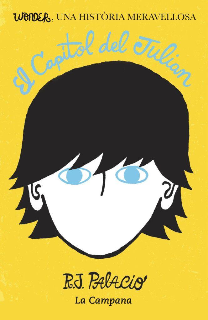 Lectura de Plec.  El llibre es titula La història de Julian. La autora és R. J. Palacio, de nacionalitat Nord-americana.  La editorial és Nuve de tinta. El llibre ha estat traduït del Anglès . Es va publicar en Català el octubre de 2014 .