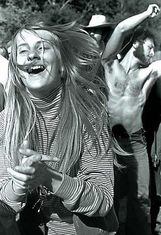 Moi  - Greatful Dead concert at The Greek Theater - Berkeley, CA 10-20-1969. Photo by Robert Altman.