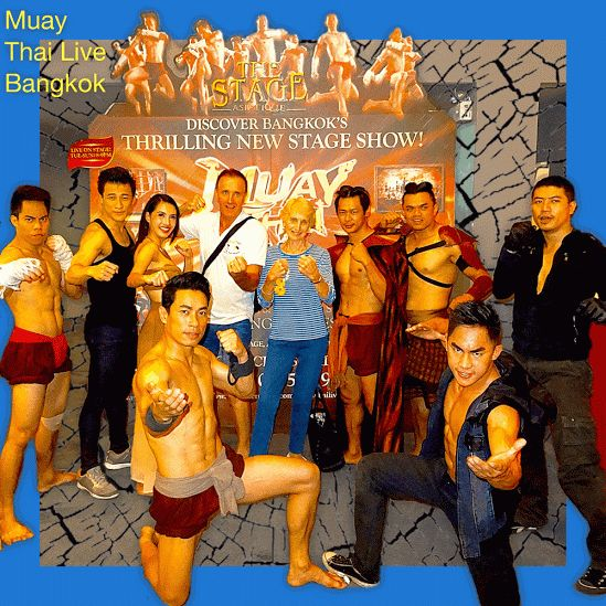 Muay Thai Live - thrilling live stage stunt show Muay Thai live is the best introduction to the fascinating sport of Muay Thai; a thrilling high action theatre performance.  Stunning stunts, gripping moments, action packed one (1) hour show. Bonus from February 2015 includes live fights after the show.