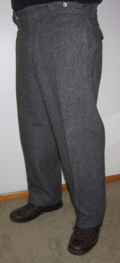 Vintage L L Bean Maine Guide Wool Hunting Pants W35 L28 #LLBean #HeavyWoolMaineGuideHuntingPants