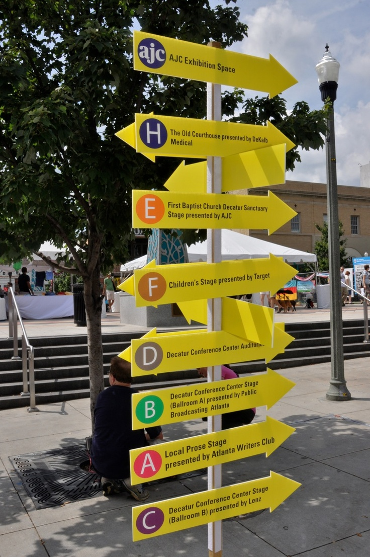 Just in case you need to find your way inside the Book Festival