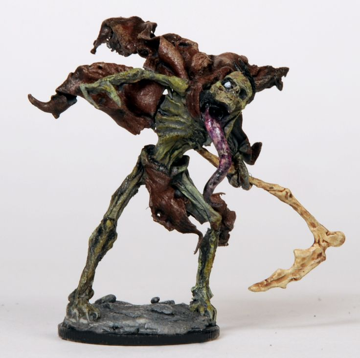 80 Horror Miniatures set in a Lovercraftian Universe. Well balanced gameplay, amazing art and a story offer the Horror experience!  Zombie Ghost: http://www.kickstarter.com/projects/magecompany/the-amityville-project-phobos-0