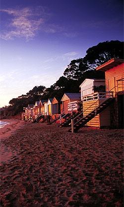 Beach Huts, Portsea, Victoria