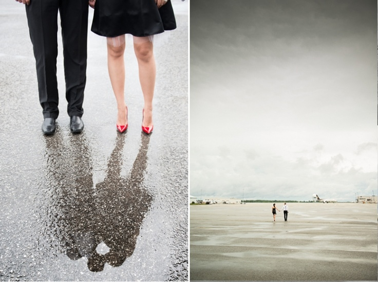 Airplanes and E-Sessions | Toronto Wedding Photographer | Joe Dayian Photography