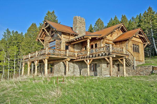 96 Best Handcrafted Log Homes Images On Pinterest Log
