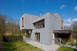 Passief huis in Blanden - alle projecten - projecten - de Architect