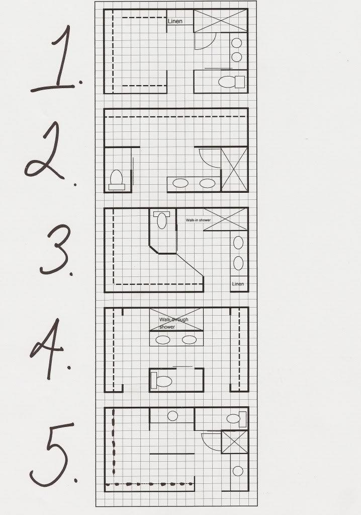22 Must See Closet Designs Inexpensive Bathroom Countertop Options Bathroom Countertops D Bathroom Floor Plans Master Bath Layout Bathroom Plans