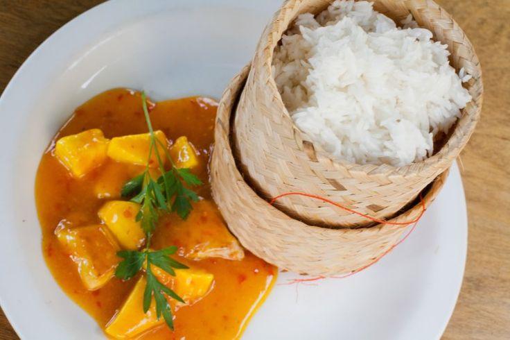REISHUNGER Klebreis mit fruchtiger Sweet-Chili-Sauce #reishunger #klebreis #asiatisch #asian #sweetchili #vegetarian